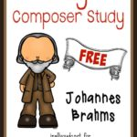 Grab the May Composer Unit Study to learn more about Johannes Brahms - composer of Brahms Lullaby!! {31 total pages} :: www.inallyoudo.net