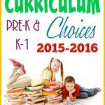 Starting our your homeschool journey can be hard if you don't know what curriculum to use. Check out choices for Preschool & K-1 this year! :: www.inallyoudo.net
