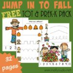 Jump in to Fall Tot & PreK-K Pack {NEW subscriber freebie}