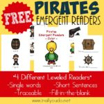 Pirate Emergent Readers {subscriber freebie}