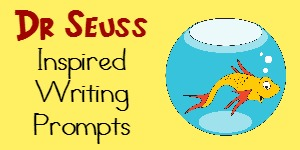 Dr Seuss inspires kids everywhere! Why not inspire them even more with these fun writing prompts! :: www.inallyoudo.net