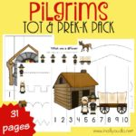 Pilgrims Tot & PreK-K Pack + Hearts 4 Home Linkup