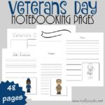 Veterans Day Notebooking Pages + Hearts for Home Linky