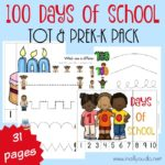 100 Days of School Tot & PreK-K Pack