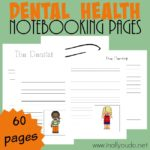 Dental Health Notebooking Pages {60 pages}