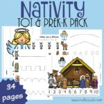 Nativity Tot & PreK-K Pack {34 pages}