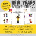 New Years Emergent Readers {NEW Subscriber Freebie}