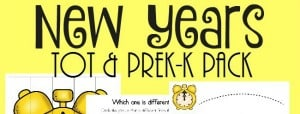 The New Year is quickly approaching, but that doesn't mean you can't sprinkle in some fun learning with this Tot & PreK-K Pack! Includes 30 pages of puzzles & activities! :: www.inallyoudo.net