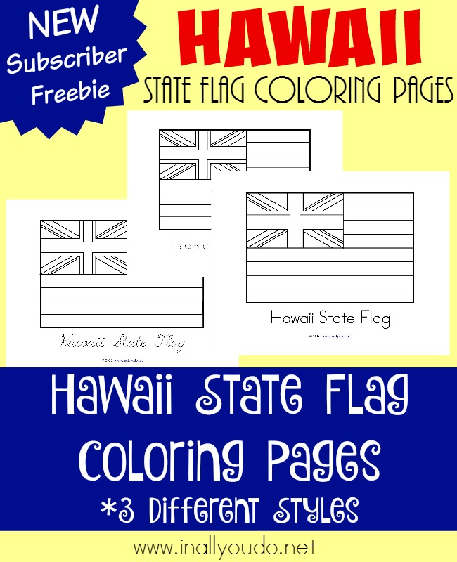Across the usa in 31 days hawaii for Hawaii state flag coloring page