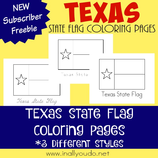 Across the usa in 31 days texas for Texas state flag coloring page