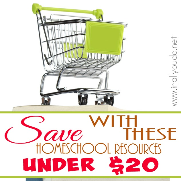 SAVE with these Homeschool Resources Under $20