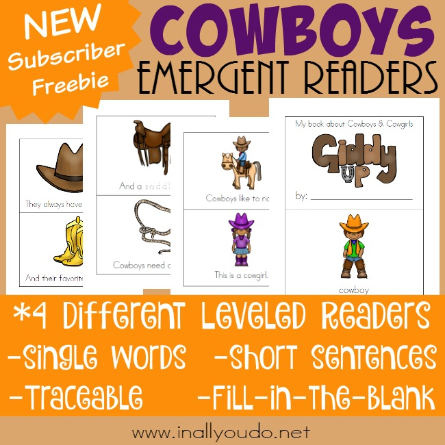 Cowboys Emergent Readers_square