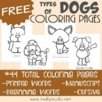 Types of Dogs Coloring Pages