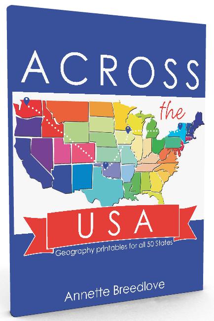Across the USA - 3d