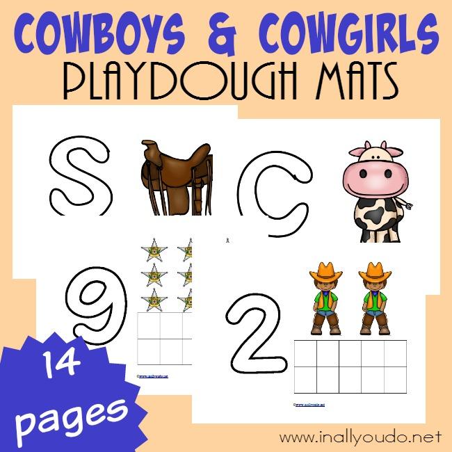 Cowboys Playdough Mats_square