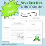 Sea Turtles Notebooking Pages