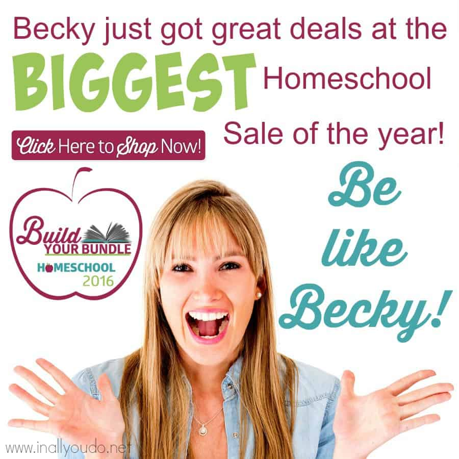 Build Your Bundle 2016 - Save 86% - 96% on #homeschool #curriculum! #BYB2016