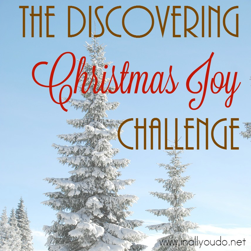 Discovering Christmas Joy Challenge