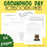 Groundhog Day Notebooking Pages