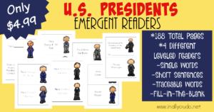 U.S. Presidents Emergent Readers