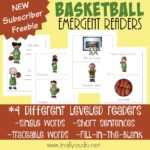 Basketball Emergent Readers