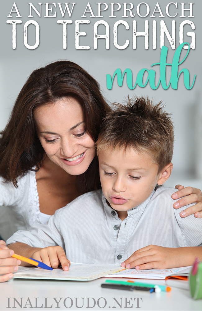Teaching Math isn't always easy, but there are new approaches that can help many kids! And we've found another one! :: www.inallyoudo.net