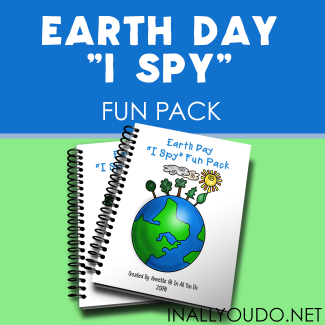 "Earth Day ""I Spy"" Fun Pack"