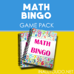 Printable Math BINGO Game Pack