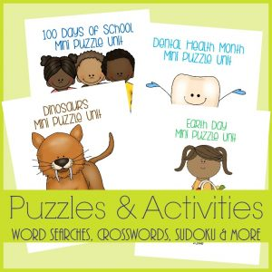 Puzzles & Activities