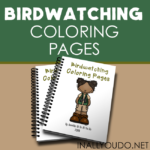 Birdwatching Coloring Pages