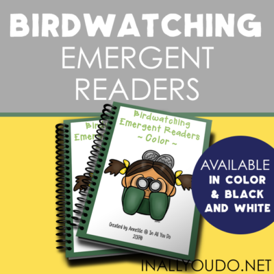 Birdwatching Emergent Readers