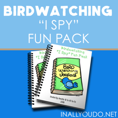 "Birdwatching ""I Spy"" Fun Pack"
