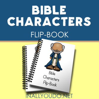 Bible Characters Mini Flip Book