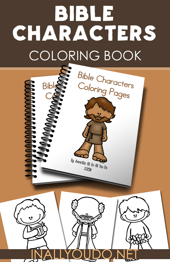Bible Characters Coloring Pages