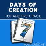 Days of Creation Tot & PreK-K Pack