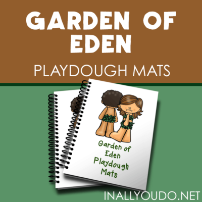 Garden of Eden Playdough Mats