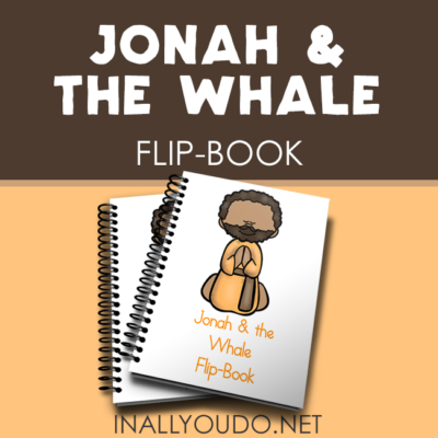 Jonah & the Whale Mini Flip Books