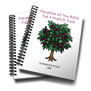 Your little ones will love working through this Parables of the Bible Tot & PreK-K Pack as they learn more about Jesus' parables in the Bible! :: www.inallyoudo.net