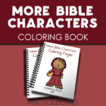 More Bible Characters Coloring Pages