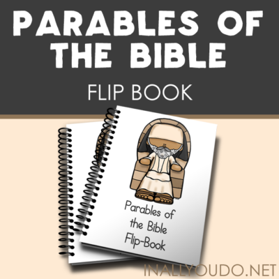 Parables of the Bible Mini Flip Books