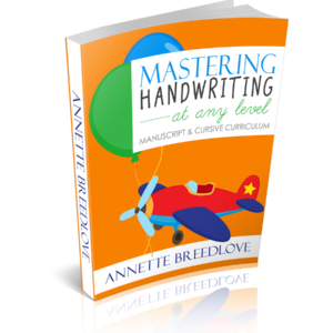 Teach manuscript/print and cursive at the same time. This new curriculum takes children from prewriting drills before jumping in to letters. :: www.inallyoudo.net