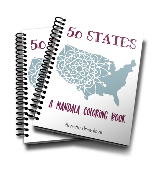 This 50-page coloring book includes Mandala coloring pages for each of the 50 United States. Students can use this as a supplement to theAcross the USA Geography curriculum or as a fun way to review the states.