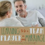 Learning to be a Team Player in Your Marriage
