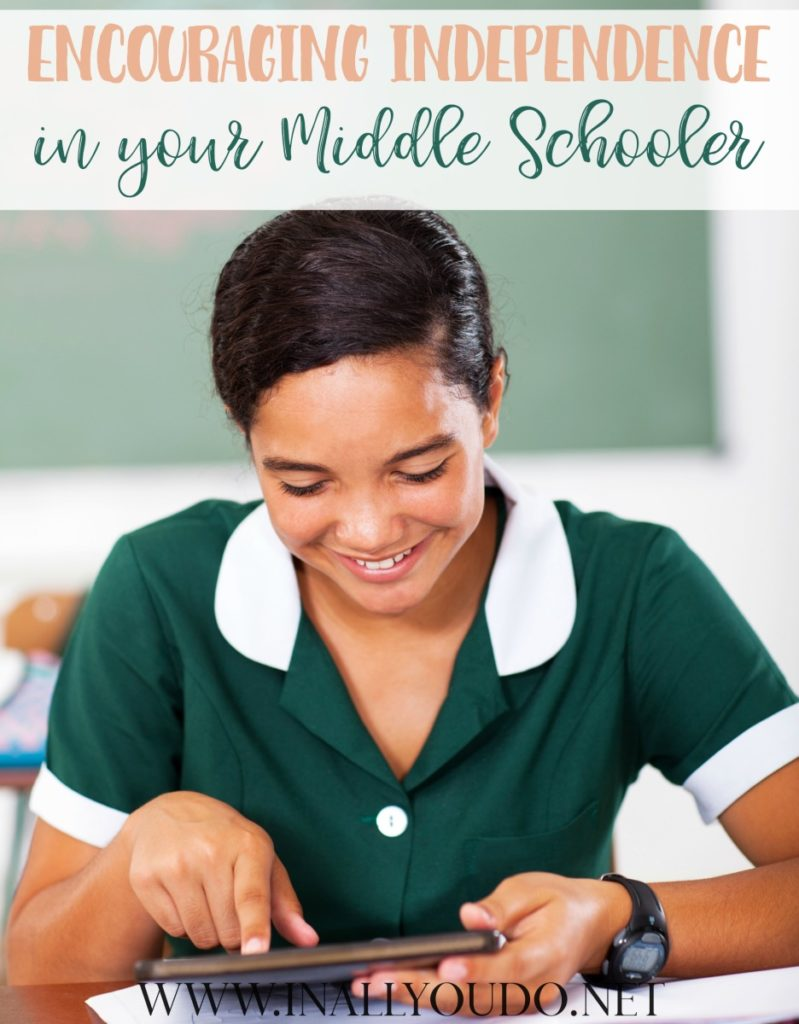 If you're like me, you were a little lost when your oldest started Middle School.I just knew I wanted him to become more independent in his studies as a Middle Schooler. Today I'm sharing how we've helped him discover and embrace his independence and succeed! :: www.thriftyhomeschoolers.com