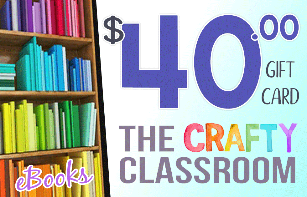 Enter for your chance to win a $40 gift card from Crafty Classroom! Giveaway ends 9.4.18 :: www.inallyoudo.net