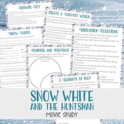 Snow White & the Huntsman Movie Study