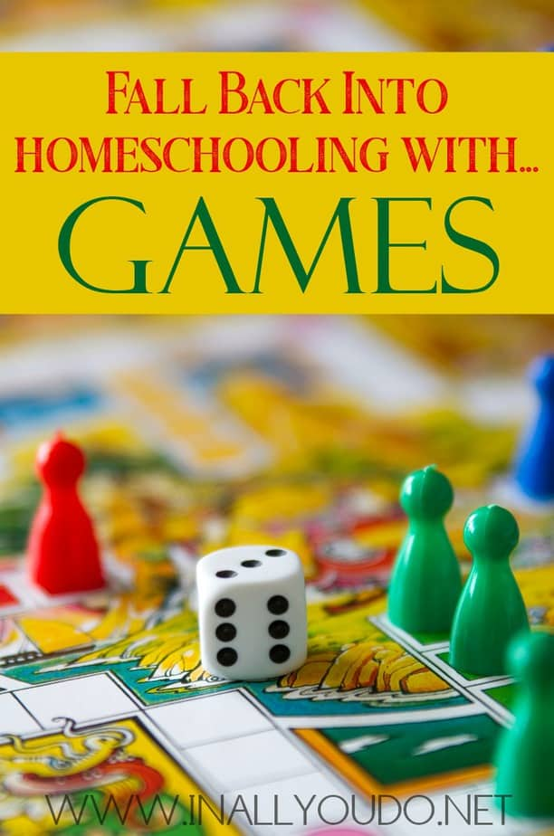 Homeschooling with games can be a great addition to any school day. Find out how you can replace the frantic back-to-school rush with play time and why you should be gameschooling! #games #gameschooling #homeschooling #homeschoolers