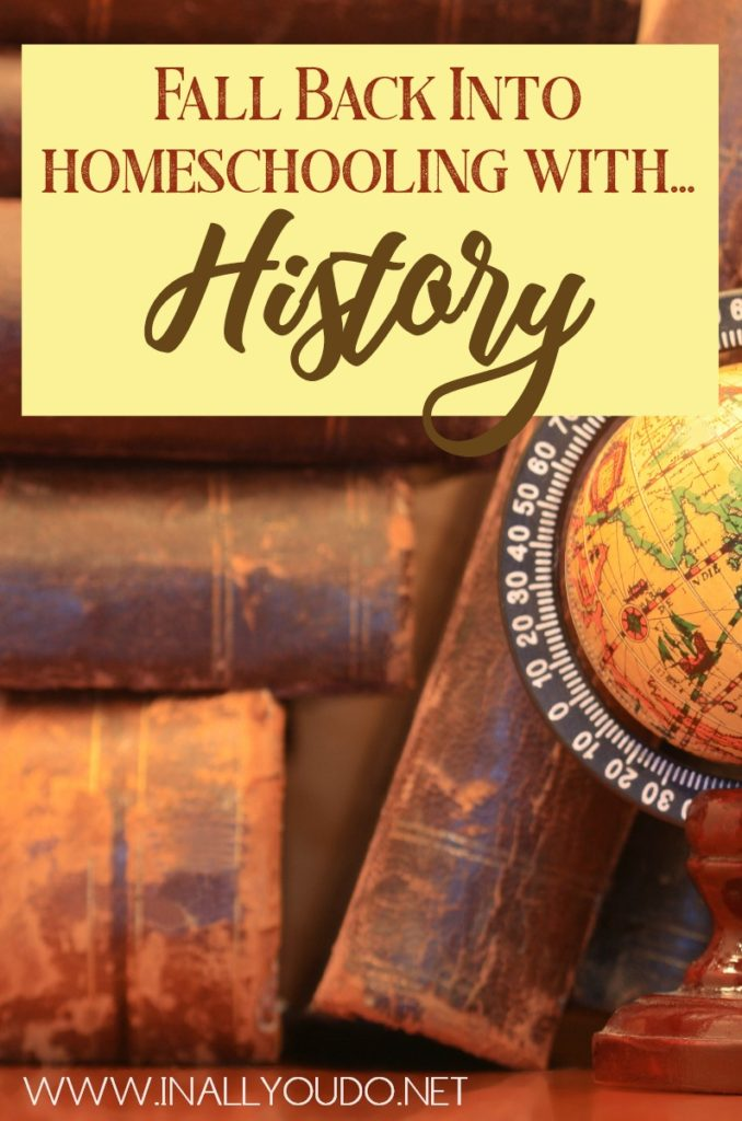 Did you know that history can be used in a variety of subjects, thus making homeschooling with history an enjoyable experience for all your children? Here's how! #history #homeschooling #homeschoolers #homeschool