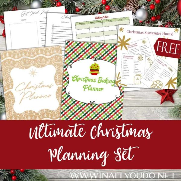 Ready to completely plan for Christmas? From budgets to gifts to meal planning ,we've got you covered! Plus get our 3 Scavenger Hunt Lists FREE (reg. $.99)!