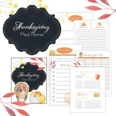 Thanksgiving Meal Planner {FREE thru 11.16.18}